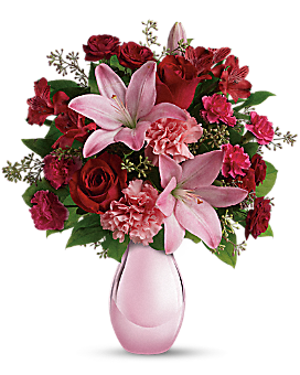 Teleflora's Roses and Pearls Bouquet Bouquet