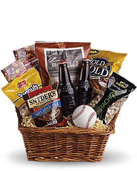 Take Me Out to the Ballgame Basket Gift Basket