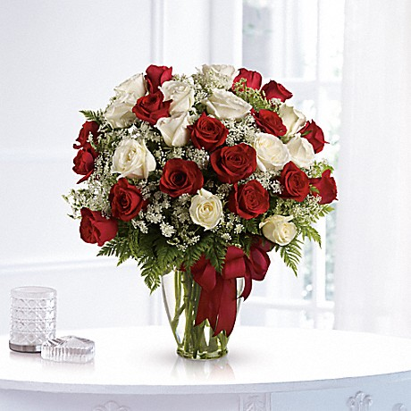 Shop for Love's Divine Bouquet - Long Stemmed Roses