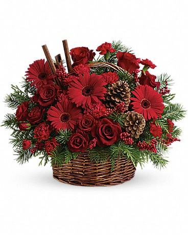 Berries & Spice Christmas Basket