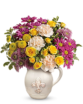 Teleflora's French Fancy Bouquet Flower Arrangement