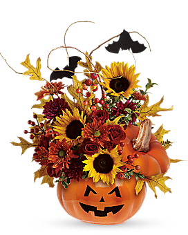Teleflora's Trick & Treat Bouquet Flower Arrangement