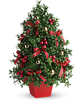 Deck the Halls Tree Bouquet