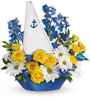 Captain Carefee sailboat Bouquet