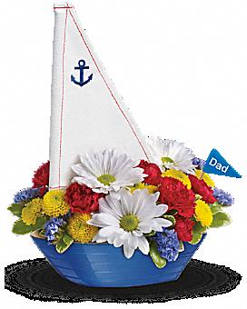 Teleflora's Anchors Aweigh Bouquet Bouquet