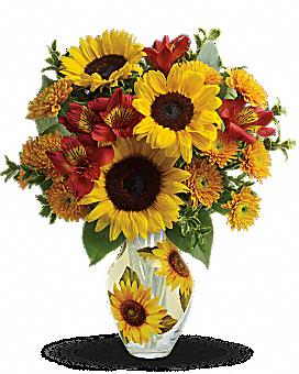 Teleflora's Simply Sunny Bouquet Bouquet