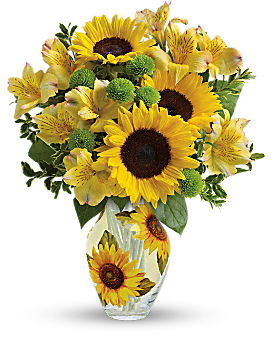 Teleflora's Soak Up The Sun Bouquet Bouquet