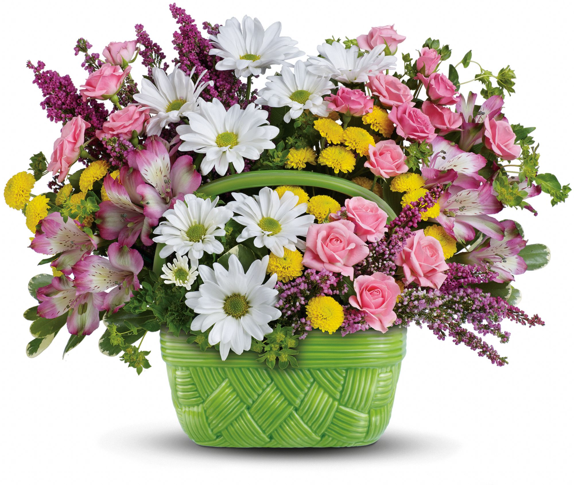 Easter Basket of flowers