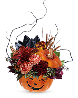 Teleflora's Halloween Magic Bouquet Flower Arrangement