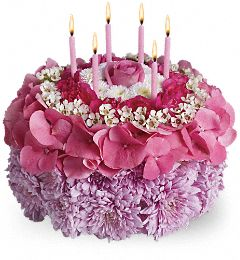 Your Special Day Birthday Chrysanthemum Bouquet