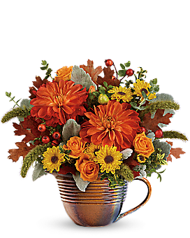 Teleflora's Autumn Sunrise Bouquet Bouquet