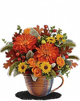 Bouquet Lever de soleil automnal de Teleflora