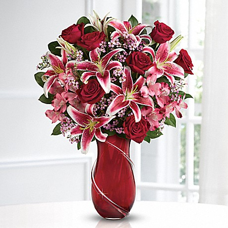 Teleflora's Wrapped With Passion Valentine's Bouquet