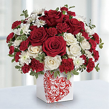 Teleflora's Best Friends Forever Valentine's Bouquet