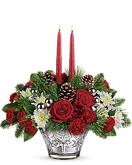 Teleflora's Sparkling Star Centerpiece Flower Arrangement
