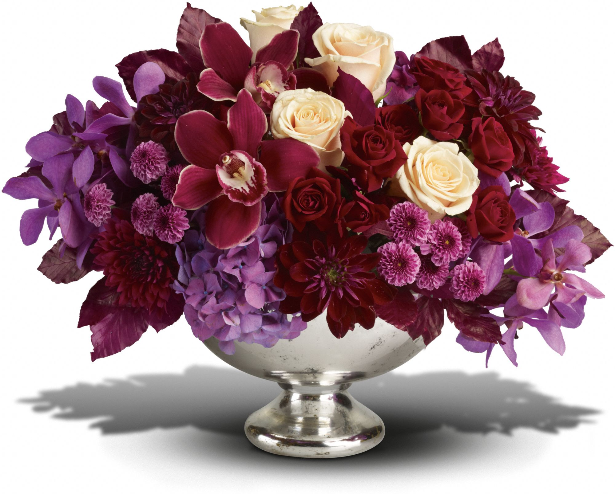Teleflora's Lush and Lovely Container Arrangement