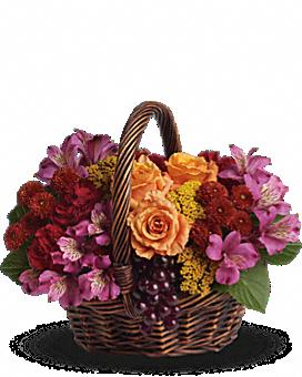 Sending Joy Basket Arrangement