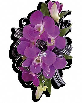 Purple Promise Wristlet Corsage