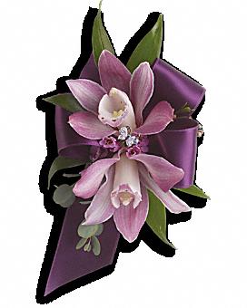 Exquisite Orchid Wristlet Corsage