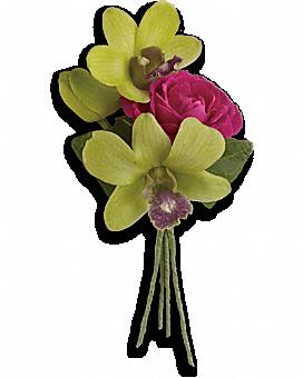 Orchid Celebration Boutonniere Boutonniere