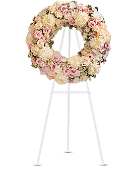Peace Eternal Wreath Sympathy Arrangement