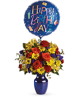 Fly Away Birthday Bouquet Bouquet