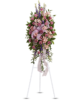 Finest Farewell Spray Sympathy Arrangement