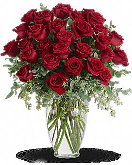 Forever Beloved - 30 Long Stemmed Red Roses Bouquet