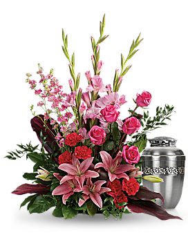 Adoring Heart Sympathy Arrangement