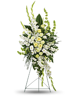 Magnificent Life Spray Sympathy Arrangement