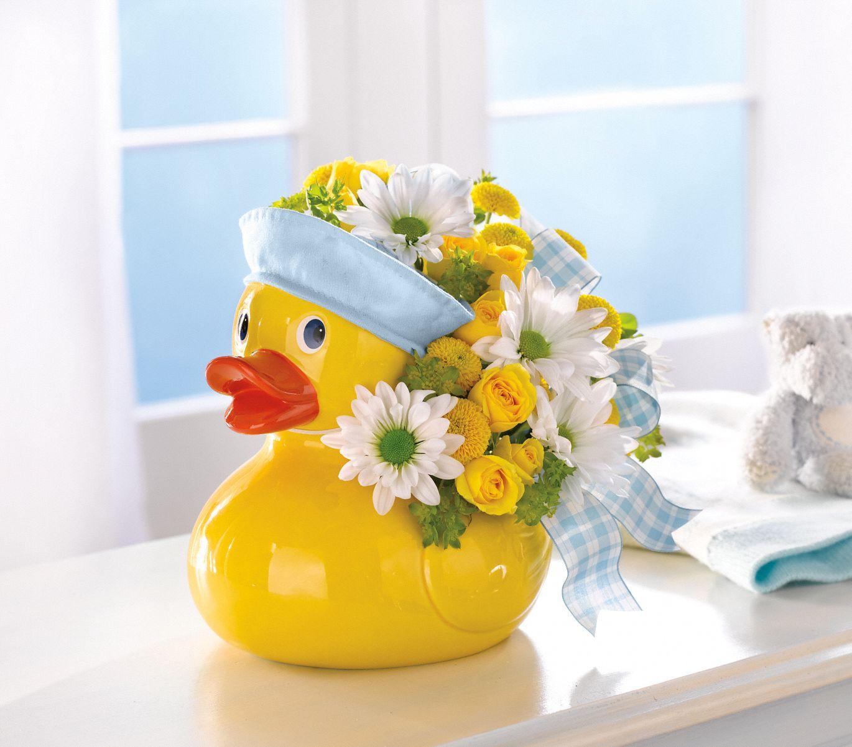 Teleflora's Ducky Delight Bouquet for a Boy