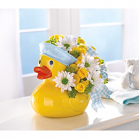Teleflora's Ducky Delight Bouquet for a Boy
