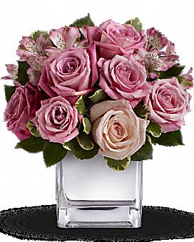 Teleflora's Rose Rendezvous Bouquet Flower Arrangement