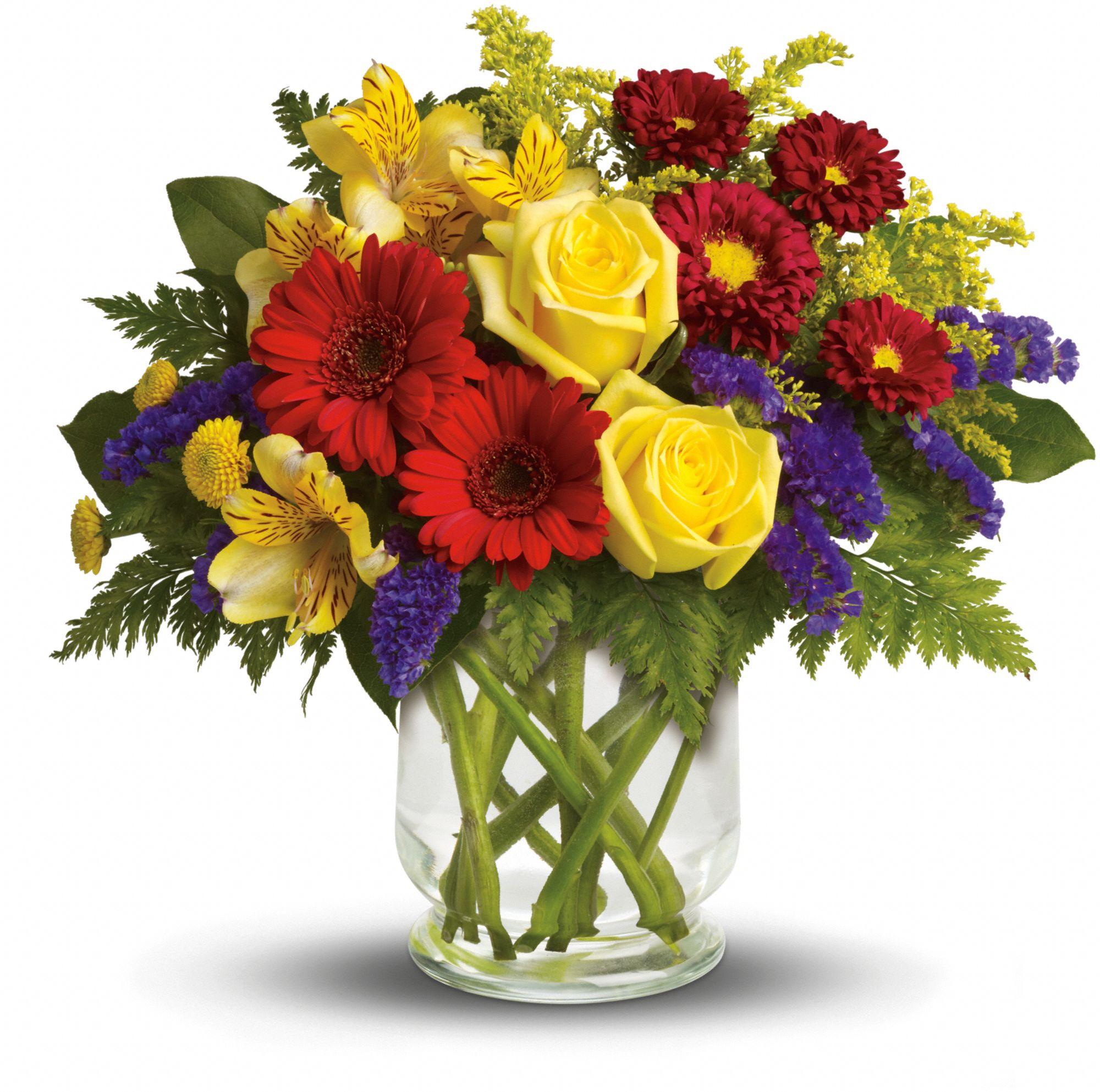 Flores en aceite - botellas decorativas