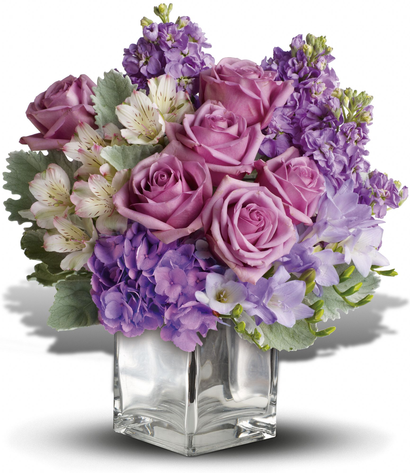 Sweet as Sugar Lavender Bouquet by Teleflora