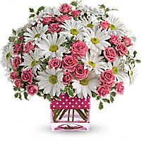 Polka Dots & Posies Bouquet