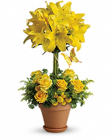 Teleflora's Yellow Fellow