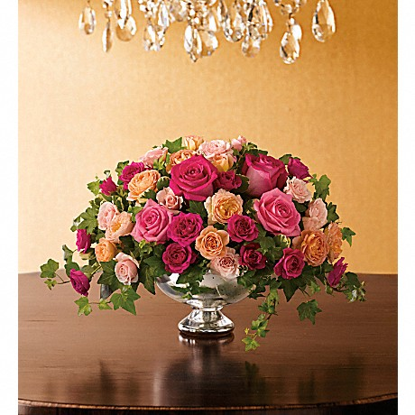 Queen's Court rose bouquet