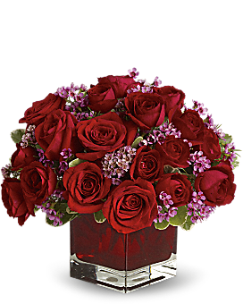Never Let Go by Teleflora - 18 Red Roses Bouquet
