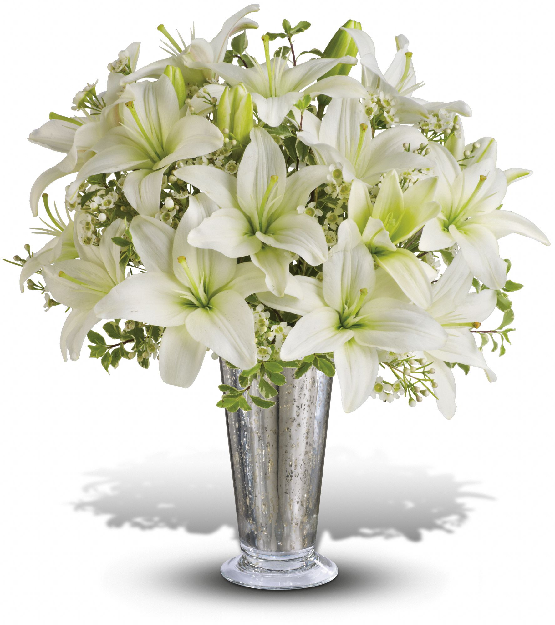 Written in the Stars by Teleflora bouquet of lilies