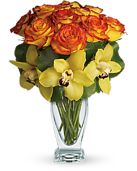 Teleflora's Aloha Sunset Bouquet