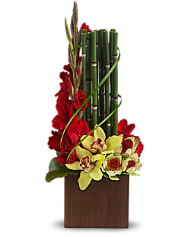 Teleflora's Fantasy Found Flower Arrangement