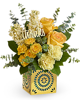 Teleflora's Shimmer Of Thanks Bouquet Bouquet