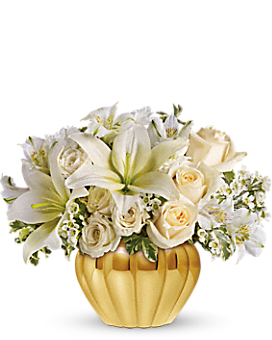 Teleflora's Touch of Gold Bouquet