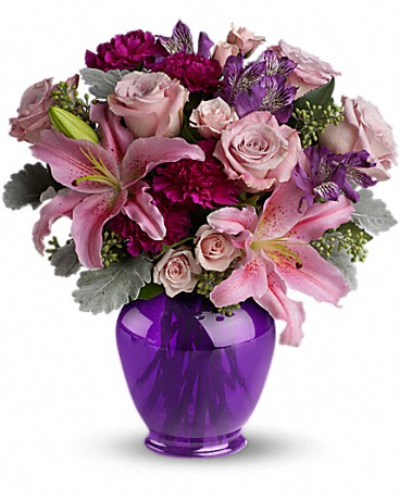 Teleflora's Elegant Beauty MIxed Floral Bouquet