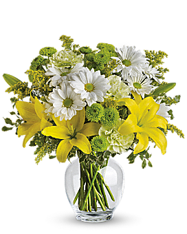 Teleflora's Brightly Blooming Bouquet