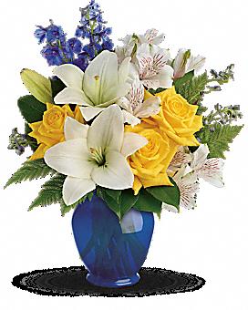 Teleflora's Oceanside Garden Bouquet Bouquet