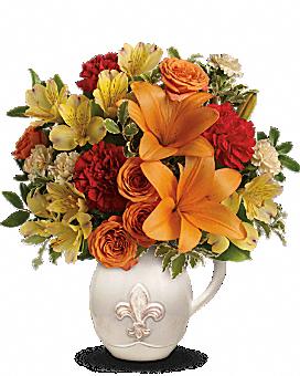 Teleflora's Summer Cottage Flower Arrangement