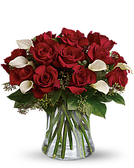 Be Still My Heart - Dozen Red Roses Bouquet