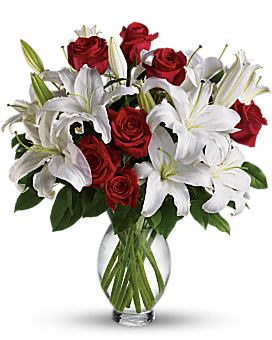 Teleflora's Timeless Romance - Long Stemmed Roses Bouquet